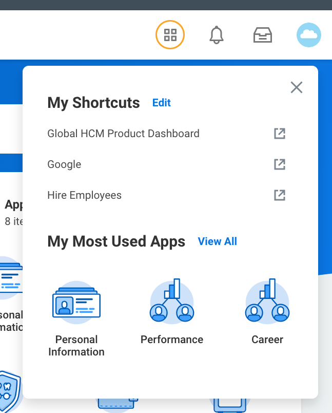 New Updates to My Shortcuts in Workday